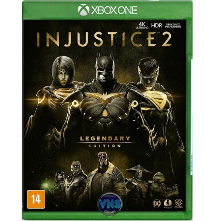 Jogo Injustice 2 Legendary Edition - Xbox One Fisica Usado