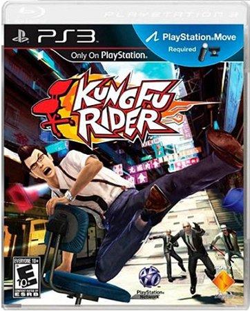 Jogo Kung Fu Rider - Ps3 Mídia Física Usado