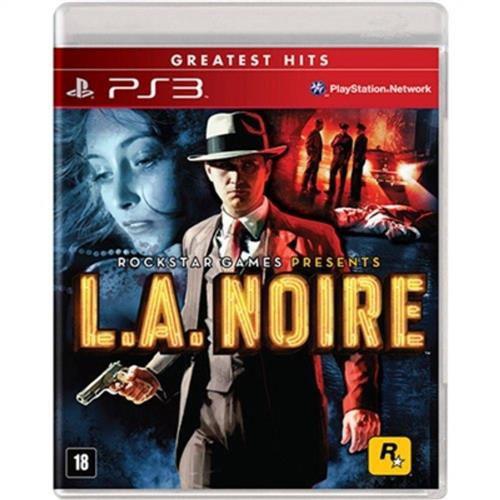 Jogo L.A. Noire Greatest Hits - Ps3 Mídia Física Usado