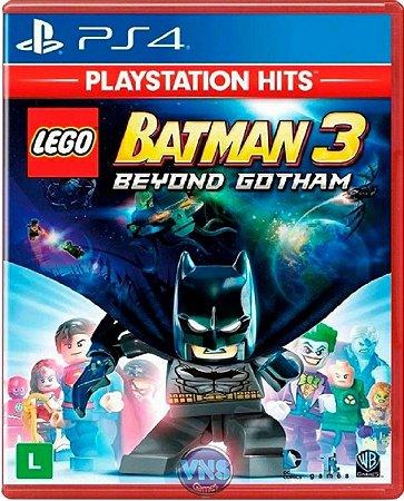 Jogo Lego Batman 3 Beyond Gotham PS Hits - Ps4 Mídia Física