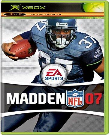 Jogo Madden 07 - Xbox Mídia Física Usado