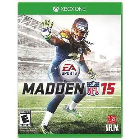 Jogo Madden NFL 15 - Xbox One Mídia Física Usado