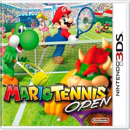 Jogo Mario Tennis Open - Nintendo 3DS Usado