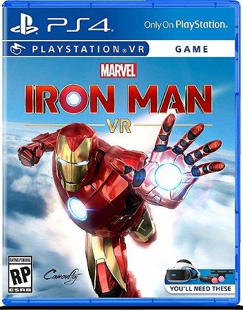 Jogo Marvel Iron Man VR - PS4 Mídia Física