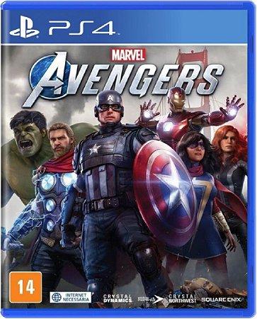 Jogo Marvel's Avengers - Ps4 Mídia Física