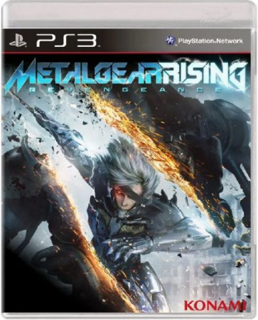 Jogo Metal Gear Rising Revengeance - Ps3 Mídia Física Usado
