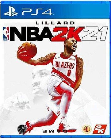 Jogo NBA 2K21 - PS4 Mídia Física