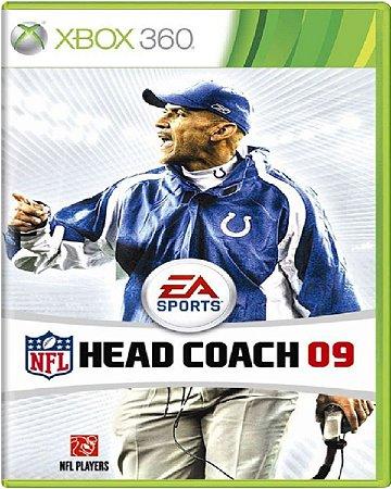 Jogo NFL Head Coach 09 - Xbox 360 Mídia Física Usado