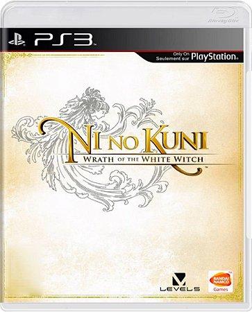 Jogo Ni no Kuni: Wrath of the White Witch - Ps3 Usado