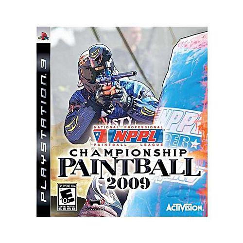 Jogo NPPL Championship Paintball 2009 - Ps3 Usado