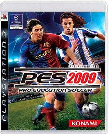 Jogo Pro Evolution Soccer 2009 - Ps3 Mídia Física Usado