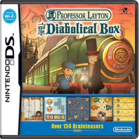 Jogo Professor Layton And The Diabolical Box - Nintendo DS