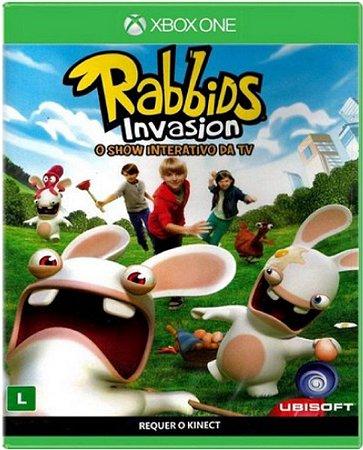 Jogo Rabbids Invasion - Xbox One Mídia Física Usado