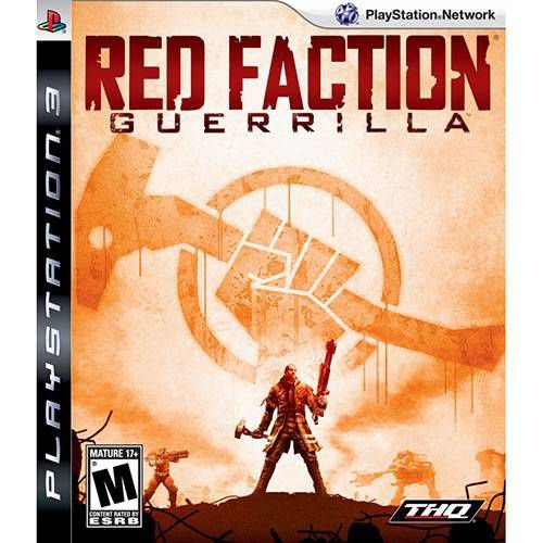 Jogo Red Faction Guerrilla - Ps3 Mídia Física Usado