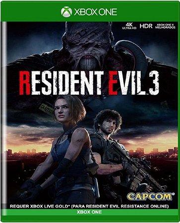 Jogo Resident Evil 3 Remake - Xbox One Mídia Física