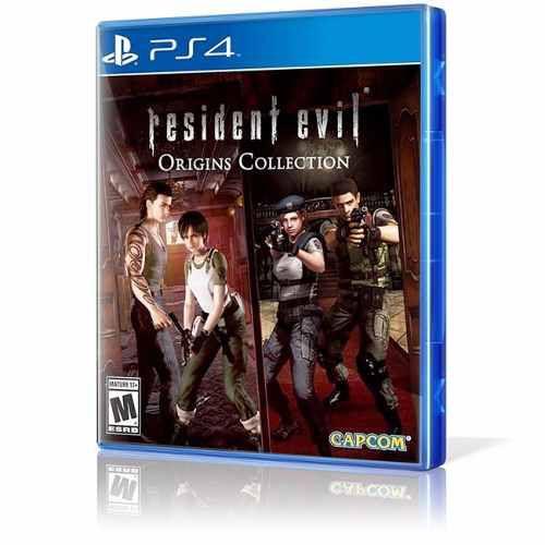 Jogo Resident Evil Origins Collection Ps4 Mídia Física Usado