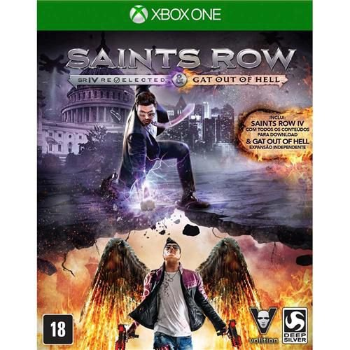 Jogo Saints Row SR IV Rev. & Gat of Hell - Xbox One Usado