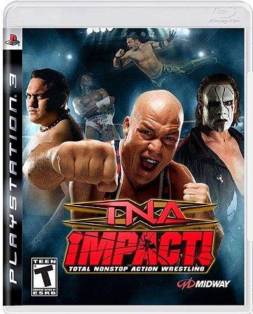 Jogo TNA Impact - Ps3 Mídia Física Usado
