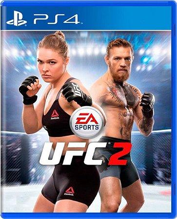 Jogo UFC 2 - Ps4 Mídia Física Usado