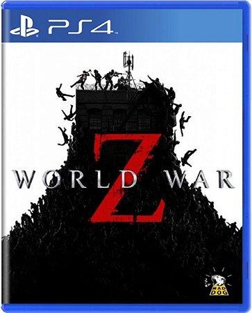 Jogo World War Z - Ps4 Mídia Física