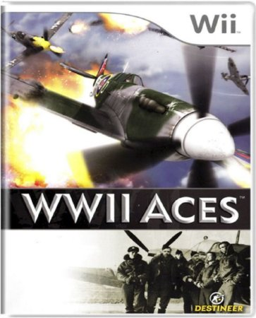 Jogo WWII Aces - Wii Mídia Física Usado