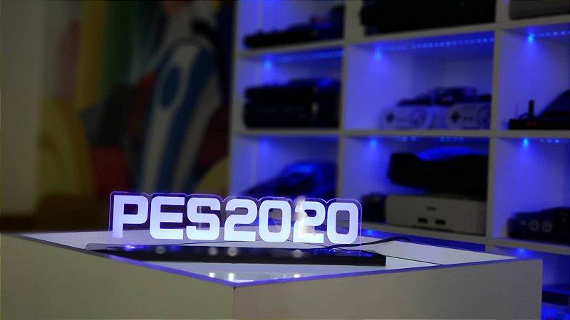 Luminária De Acrílico Led PES 2020 Símbolos 25cm