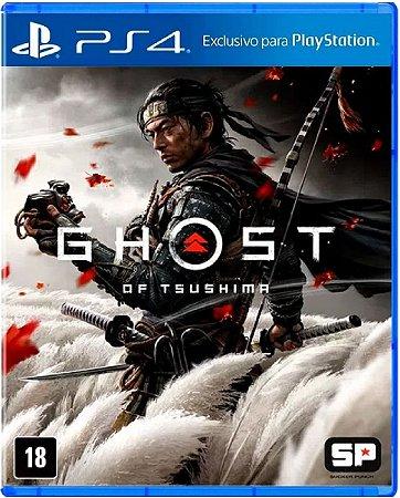 Jogo Ghost Of Tsushima - Ps4 Mídia Física