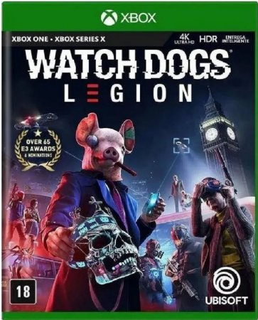 Jogo Watch Dogs: Legion - Xbox One Mídia Física