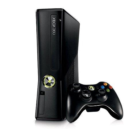 Xbox 360 Slim 16GB LTU + 10 Jogos