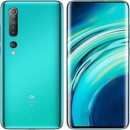Xiaomi Mi 10 8GB RAM 256GB Memória Coral Green 5G