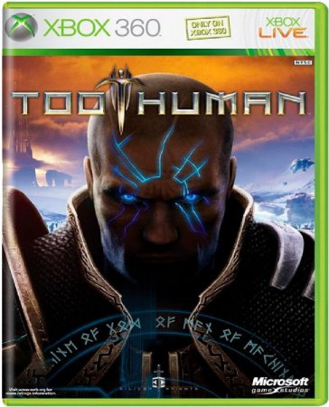 Jogo Too Human - Xbox 360 Mídia Física Usado