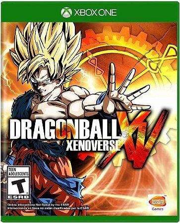 Jogo Dragon Ball Xenoverse XV - Xbox One Mídia Física Usado