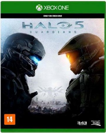 Jogo Halo 5 Guardians - Xbox One Mídia Física Usado
