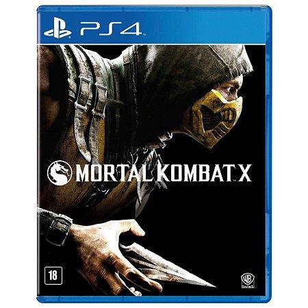 Jogo Mortal Kombat X - Ps4 Mídia Física Usado
