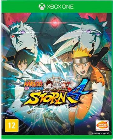 Jogo Naruto Shippuden Ult. Ninja Storm 4 - Xbox One