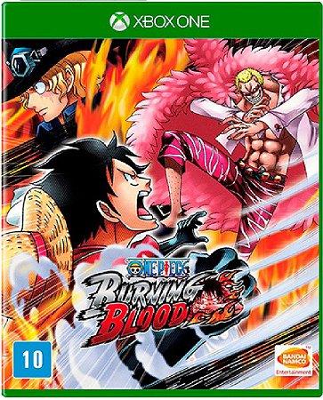 Jogo One Piece Burning Blood - Xbox One Mídia Física Usado