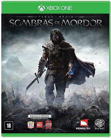 Jogo Middle-earth Shadow of Mordor - Xbox One Midia Fisica Usado