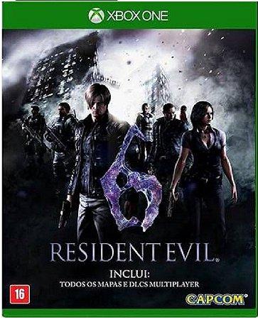 Jogo Resident Evil 6 - Xbox One Mídia Física Usado