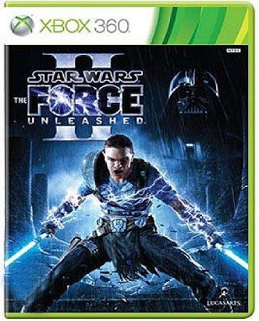 Jogo Star Wars The Force Unleashed II - Xbox 360 Mídia Física Usado