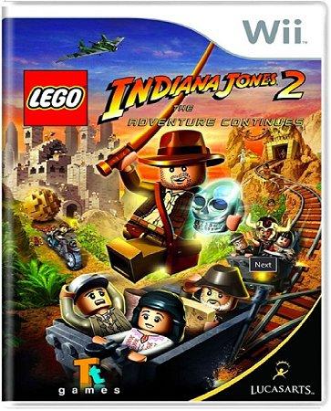 Jogo Lego Indiana Jones 2 The Adventure Continue - Nintendo Wii Usado
