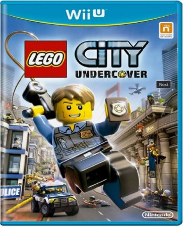 Jogo Lego City Undercover - Nintendo Wii U Física Usado