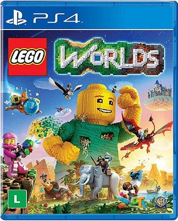 Jogo Lego Worlds - Ps4 Mídia Física Usado