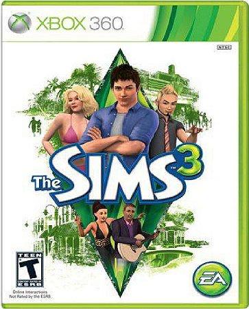Jogo The Sims 3 - Xbox 360 Mídia Física Usado
