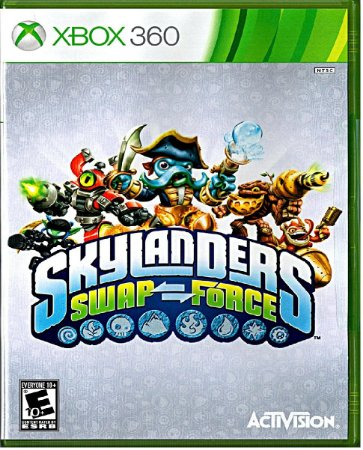 Jogo Skylanders Swap Force- Xbox 360 Mídia Física Usado