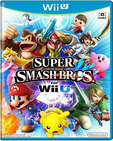 Jogo Super Smash Bros - Nintendo Wii U Usado