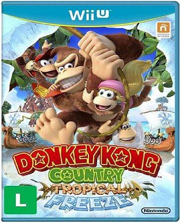 Jogo Donkey Kong Country Tropical - Nintendo Wii U Usado
