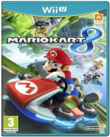 Jogo Mario Kart 8 - Wii U  Mídia Física Usado