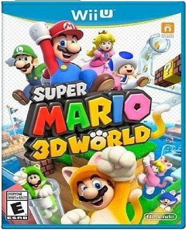 Jogo Super Mario 3D World - Wii U Mídia Física Usado