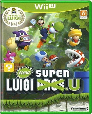 Jogo New Super Luigi Bros. U- Wii U Mídia Física Usado