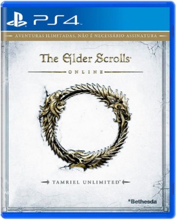 Jogo The Elder Scrolls Online - Ps4 Mídia Física Usado